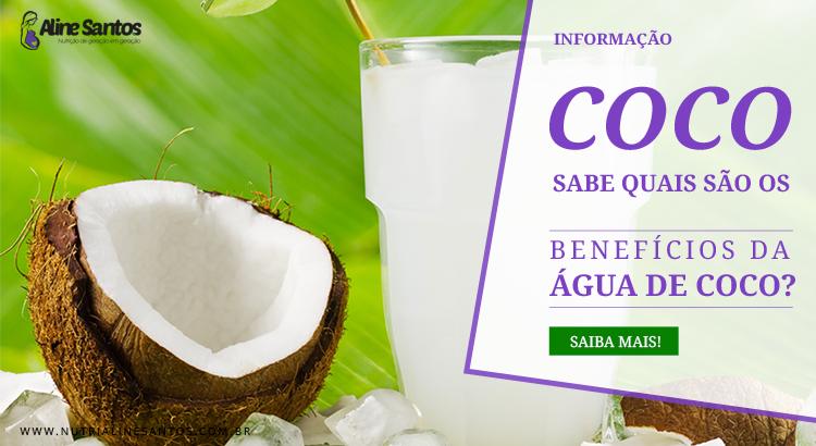 Quais são os benefícios da água de coco?